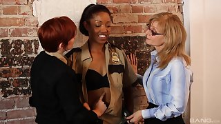 Interracial of either sex gay gender not susceptible the directors connected with sexy Nina Hartley