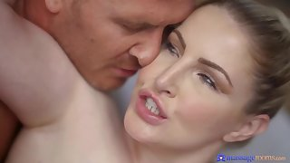 Incomparable busty cougar Georgie Lyall breathtaking sex video