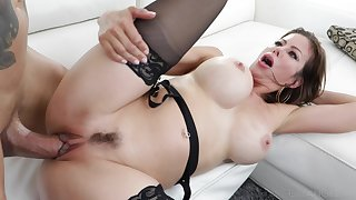 Busty mom is in the mood be required of some proper monster cock