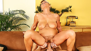 busty mom banged by her toyboy