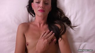 Scrawny raven-haired babe porn integument
